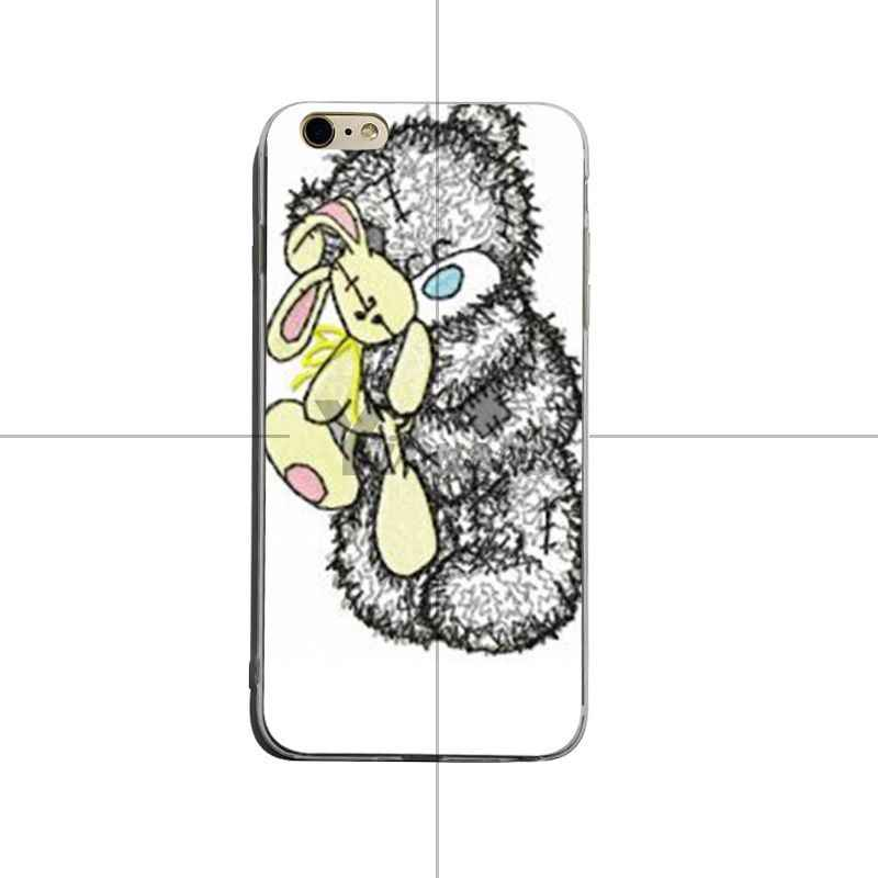 Yinuoda Slechte teddybeer Patroon Rubber tpu Soft Telefoon Accessoires Cover Case Voor iPhone 8 8 plus 7 7 plus 6 6 splus X XS XR Cover