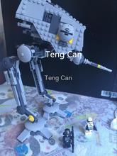 499 unids 2016 AT-DP Bela 10376 New Star Wars Minifigures Building Blocks Juguetes de Regalo serie de dibujos animados brinquedos legeod Rebeldes