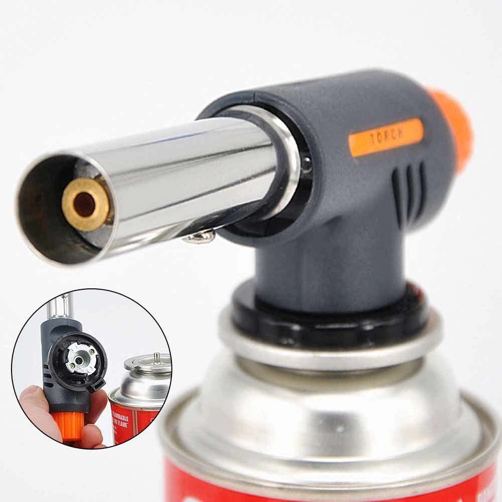 Power Tool Accessories Brand New Portable Multifunction Ignition Butane Gas Torch Welding Bbq Flame Gun Baking Cake Thawing Garden Outdoor Highly Polished