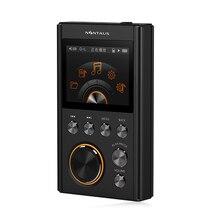 Versión mejorada 24bit dac independiente 16g x10 nintaus reproductor de mp3 dsd64/192 khz hifi lossless música mini deporte reproductor de mp3