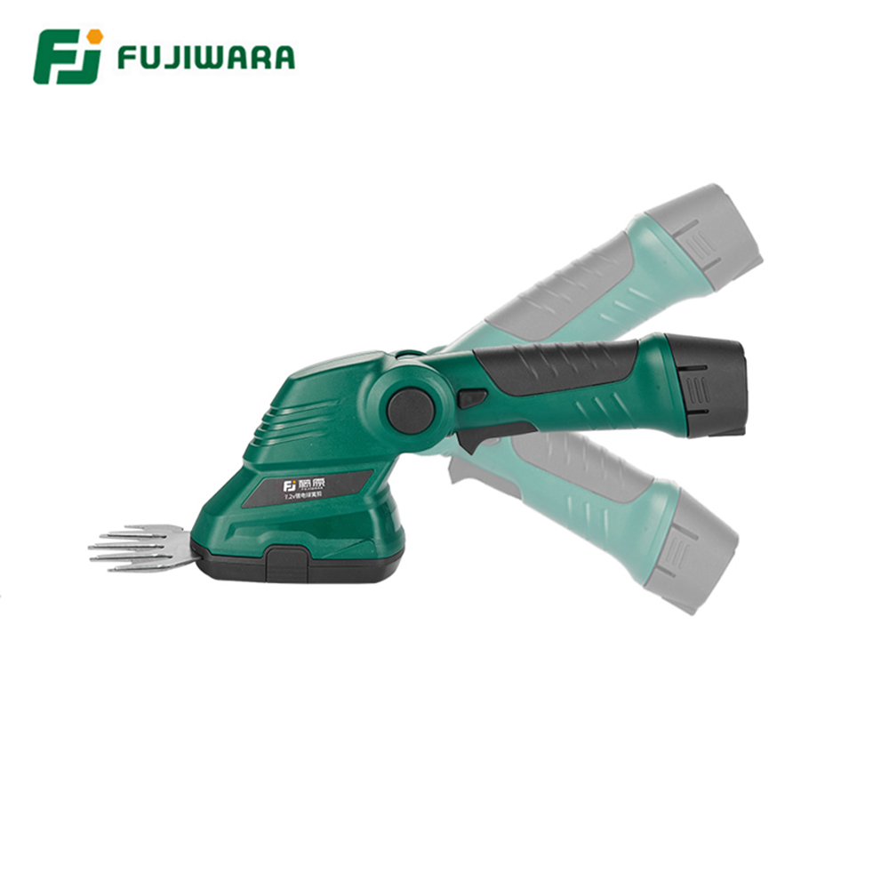 Tools : FUJIWARA Electric Weeder Rechargeable Lawn Hedge Trimmer Pruning Lithium Electric Lawn Mower Garden Lawn Fence Scissors