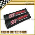 Автомобиль для укладки 2 шт./пара Для Ford ST Гонки Красный Углерода Ремень безопасности Обложка Универсальный JDM
