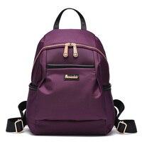 New Elegant Backpack Schoolbag Bags for Teenagers Mini Urban Backpack for Teenage Girls Kids 2016 Traveling Kawaii Nylons Batohy