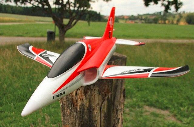 Freewing Stinger 64 4S обновленная версия RTF готова к полету, без батареи RC самолет