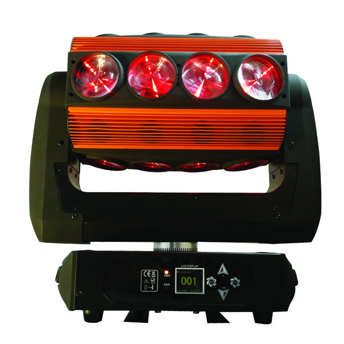 cheaper 16*25w led moving head beam light spider studio equipment 15/27/75 channels XY unlimited rotation g126y 2pcs red led light 25 31mm spst 4pin on off boat rocker switch 16a 250v 20a 125v car dashboard home high quality cheaper
