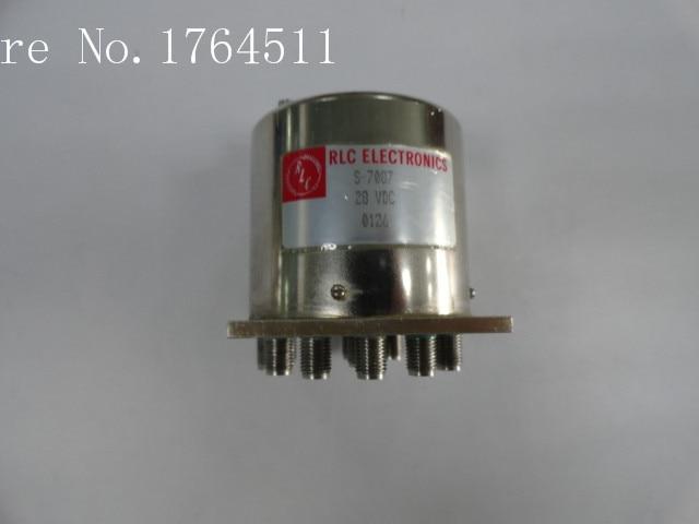 [BELLA] RLC ELECTRONICS S-7087 DC-12.4GHZ 28V SMA Single Pole Twelve Throw RF -