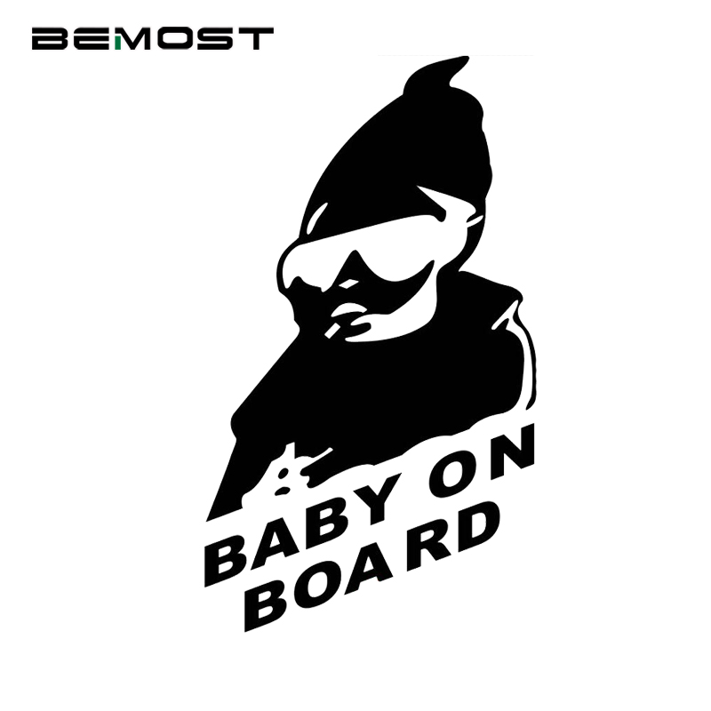 BEMOST 2 Size Car styling Baby on Board Car Safty Stickers