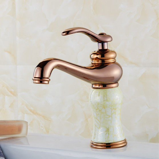 Free shipping Bowlder basin sink faucet with solid brass bathroom basin mixer tap of hot cold antique faucetsFree shipping Bowlder basin sink faucet with solid brass bathroom basin mixer tap of hot cold antique faucets