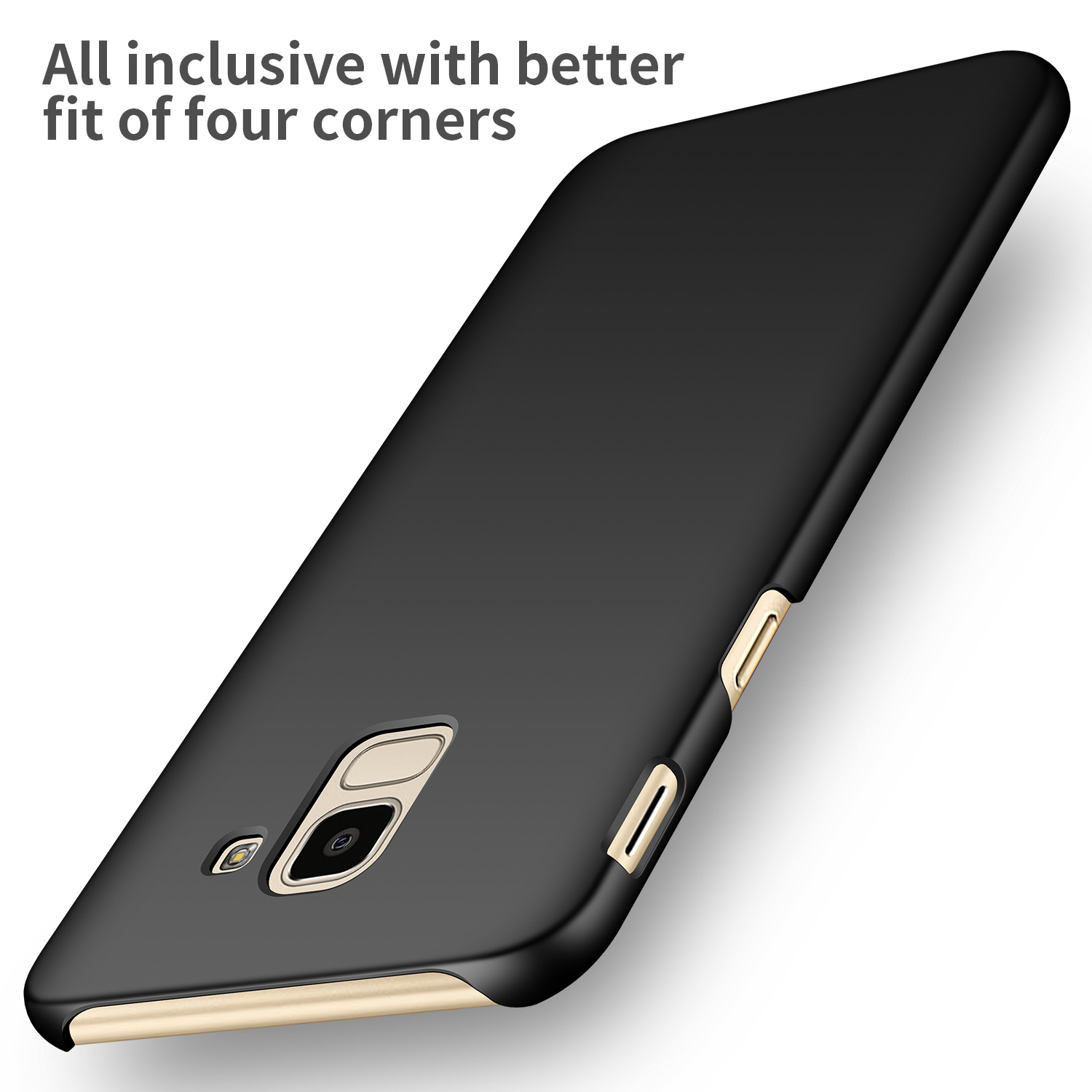 Nuovi Prodotti c6e3a 3d3aa US $4.41 6% OFF|For Samsung Galaxy J6 2018 Case High quality Hard PC Slim  Matte Skin Protective Back cover case for samsung j6 2018 phone shell-in ...