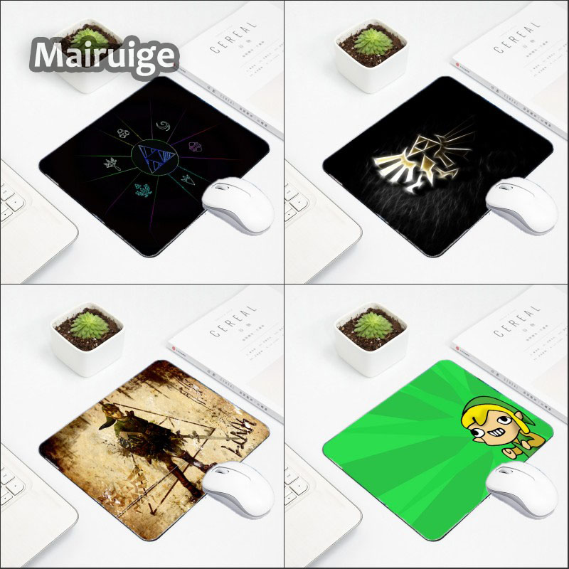 Mairuige Funny Cool Pattern Mousepad The Legend Of Zelda Series Printed Diy Customized Design Pc Computer Mini Table Mouse Pad