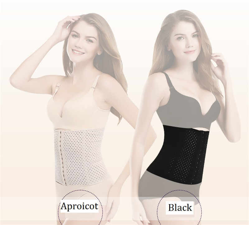 0040aae700c ... NINGMI Modeling Belt Waist Trainer Tracksuit for Women Pulling Corset  Weight Loss Shapewear Slimming Body Strap ...