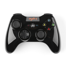 PXN-6603 MFi Certified Wireless Bluetooth Game Controller Joystick Vibration Handle Gamepad for iPhone / iPad / iPod Touch