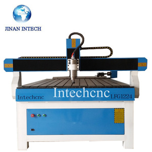 Competitive price LFG1224 usb 3040t router engraver engraving cnc stencil laser cutting machine(China)