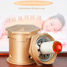 SHARE HO Moxa Box Chinese Moxibustion Stickers Acupuntura Acupoint Heating Back Therapy Sub-health Women Gynaecology Body share ho moxibustion acupuntura points anti broken vacuum cans with burning moxa artemisia heating therapy chinese cupping