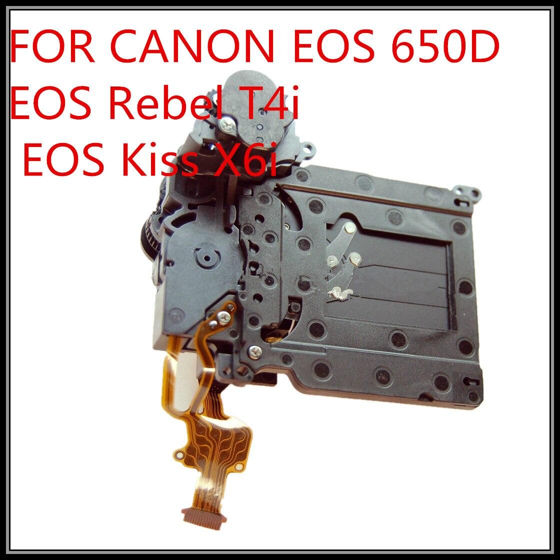 Groupe d'assemblage d'obturateur d'origine pour Canon EOS 650D/rebelle T4i/Kiss X6i pièce de réparation d'appareil photo numérique