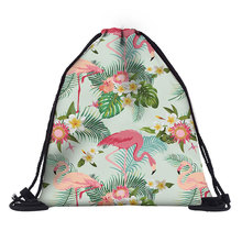 Girls Women Waterproof Drawstring Bag Solid casual backapack travel Lightweight Gym Bag Men Outdoor Backpack cheap backbag