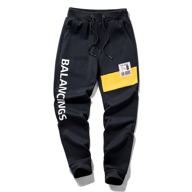 Fear God Sport New Arrival Cotton Mid Drawstring Panelled Spring Of 2019 With Casual Pants Fashion Joker Loose Male Feet