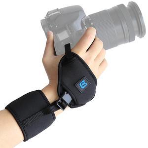 Yiwa PULUZ наручный ремешок для камеры SLR/DSLR с 1/4 дюймовым винтом пластиковая пластина Профессиональная мягкая Неопреновая рукоятка