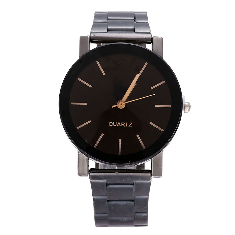Mens Brand Watches Women Fashion Stainless Stell Band Quartz Wristwatches Lover Cheap Gifts Clock Reloj Hombre Acero Inoxidable