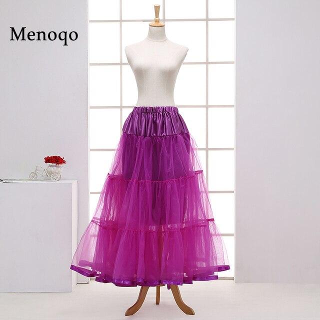 Vintage Kleid Petticoat für Hochzeit Retro Krinoline Frauen 3 Hoops ...