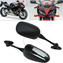 Hot sale lowest price Black View Mirror For HONDA CBR 600 RR 2003-2014 09 10 11 CBR1000RR 2004-2007 Motorcycle Accessories(China)