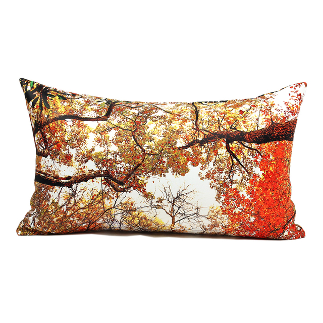 30 50cm Sofa Cushion Cover Autumn Bough Pillow Covers Outdoor