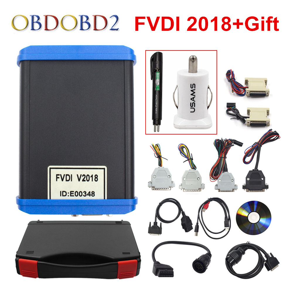 Original FVDI 2018 Full(Including 18 Software) FVDI ABRITES Commander No  Limited Covers FVDI 2014 2015 & Most Functions Of VVDI2 - TechShops