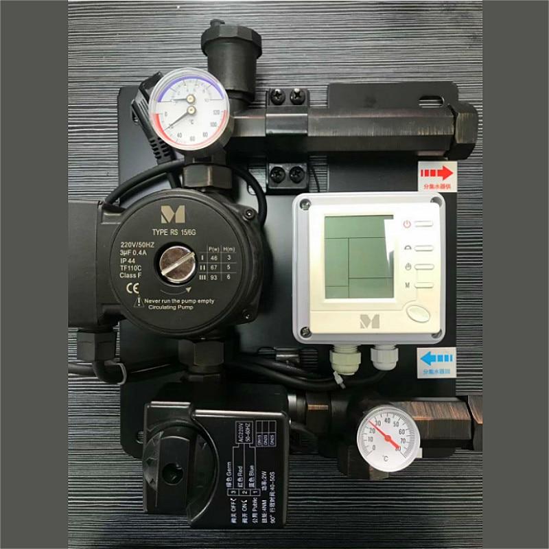 インテリジェント水混合弁サーモスタット制御値 DN25 水循環パンプス冷却水マニホールド床暖房  グループ上の 家のリフォーム からの バルブ の中 1