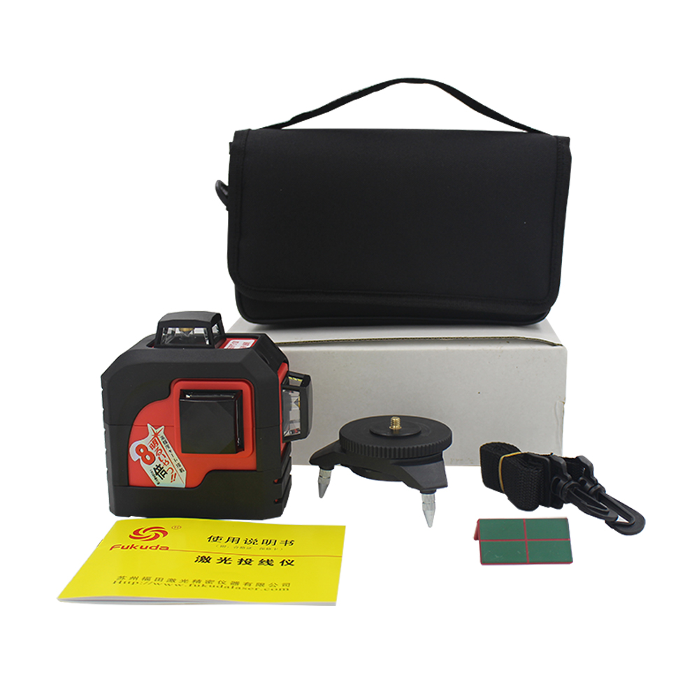 MW-93T 3D 12Lines laser level,Red Laser level,Self-Leveling 360 Horizontal And Vertical Cross Super Powerful red Laser Beam Line bbloop confirm outline self inking stamp rectangular laser engraved red