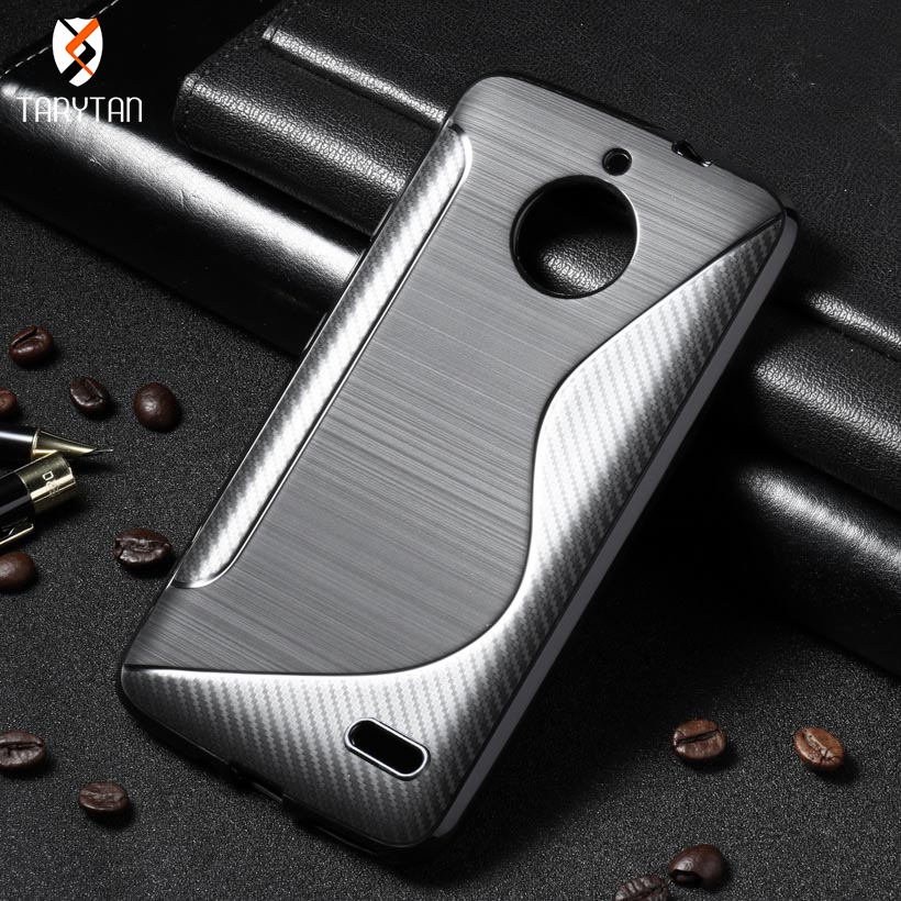 TaryTan Silicone Soft TPU case For moto G5s plus X4 moto Z2 play cover for Moto C C plus moto E4 E4 plus silicone Phone Case bag