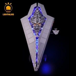 Image 2 - LIGHTAILING LED Light Kit For Star War Series Super Star Destroyer Building Block Light Set Compatible With 10221