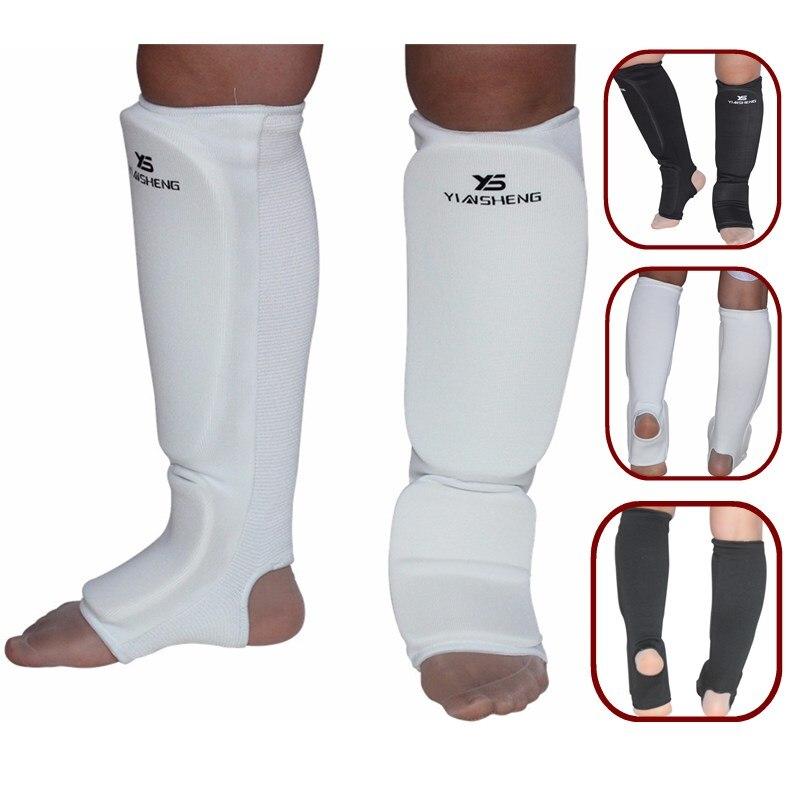 Adults/Kids Karate/Sanda/Taekwondo/Kick Boxing Ankle Support Sports Guard Brace Foot Protector boxing shin protector pads