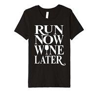 Premium Ciemny Kolor Runer Teraz Później Śmieszne Wina Wina Koszulka Streetwear Cartoon Funny Marka Kobiet O-Neck T Shirt Top Tee