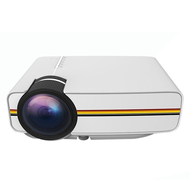 YG400 LCD Mini Proyector Portable 1000 lúmenes 800x480 píxeles 1080 P Proyecto Película de Cine En Casa de Videojuegos de Los Medios de comunicación jugador