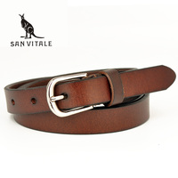 New Women Fashion Belts With Genuine Leather Elastic Buckle Waistband Luxury Jeans Dress Female Top Quality