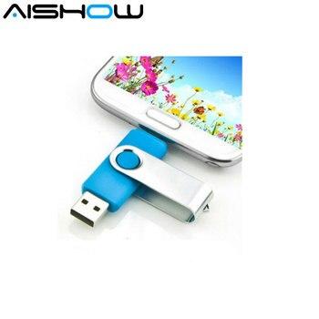 Usb flash drive Smart Phone OTG Pendrive Pen Drive 32GB 16GB 8GB 4GB Memory stick mini external storage micro USB 2.0 U Disk