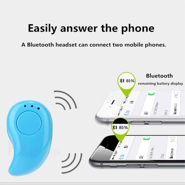FANGTUOSI S530 Mini Wireless Bluetooth Earphone in ear Sports with Mic Earbuds Handsfree Headset Earphones Earpiece for iPhone 7 2