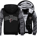 Atlanta Falcons NFL Hoodie American Footballs Team Men Women Hoodies Sweatshirts Zipper Jacket Sportwear Tracksuits