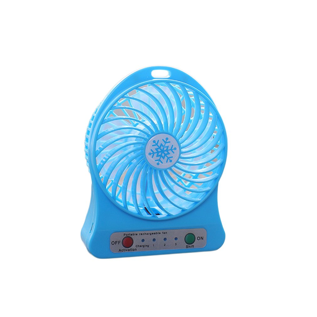 Portable Size Rechargeable Cooler Cooling Fan Air Cooler Mini Operated Desk USB Fan for PC Laptop Computer Best Gift цена