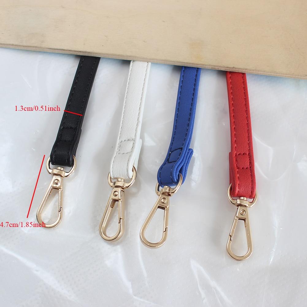 120cm Bags Strap Adjustable Handbag DIY Handle Strap Belt Buckle Shoulder Bag Accessories Leather PU Red Hot Belts Strap in Bag Parts Accessories from Luggage Bags