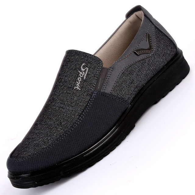2018 New Arrival Spring Summer Comfortable Casual Shoes Mens Canvas Shoes For Men Comfort Shoes Brand Fashion Flat Loafers Shoe 1