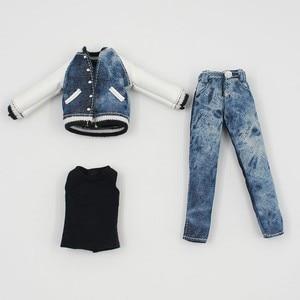 Image 3 - DBS blyth doll buzlu bjd kıyafet pantolon şort kış ceket serin erkek kız, sadece giysiler hiçbir bebek