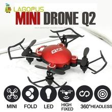 цена lagopus Mini Drone Pocket Foldable RC Drone with Camera HD 2MP Remote Control Helicopter Quadcopter Wifi Drone онлайн в 2017 году