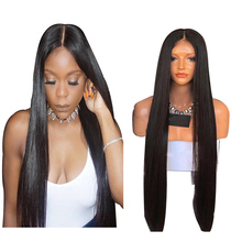 7A Glueless Full Lace Human Hair Wigs For Black Women Brazilian Straight Lace Front Human Hair Wigs With Baby Hair Full Lace wig
