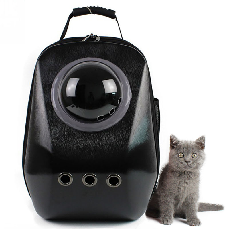 Luxury Geometry Diamond Carrying Bag For Dog Cat Puppy Space Pet Bubble Backpack Travle Astronaut Flight