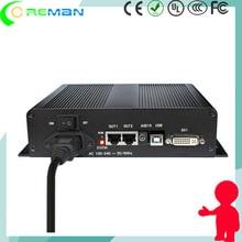 P2 p2.5 p3 HD location led carte de contrôle daffichage/Linsn 802 carte denvoi avec boîte pour panneau led/DC entrée led carte pilote