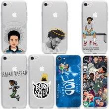 J cole capa transparente de silicone, capa macio de hip hop para crianças, iphone 11 e 11pro, promax x, xr, xs max 8 7 plus 6s plus 5 se