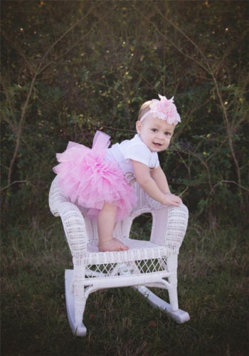 Canis Newborn Baby Girls Unicorn Romper Tutu Skirt Headband Outfits Clothes