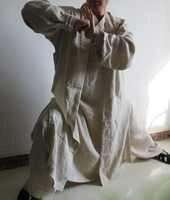 20สีU Nisex W Udangเต๋าเสื้อคลุมที่มีคุณภาพสูงผ้าลินินไทชิเหมาะสมกับกังฟูเครื่องแบบศิลปะการต่อสู้เสื้อผ้าสีเขียว/สีฟ้า/red3pcs/ชุด