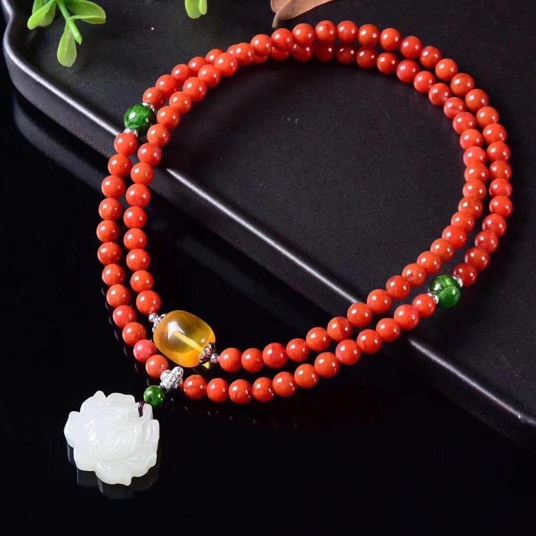 2018 Kehribar Women Bracelet Armbanden Voor Vrouwen Jewelry S925 Accessories Hand Wholesale Handmade Wear Ruili Lady String